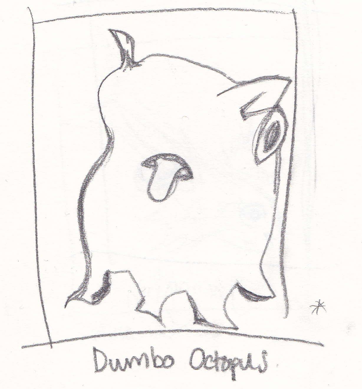 Dumbo Drawing Dumbo Octopus Drawing